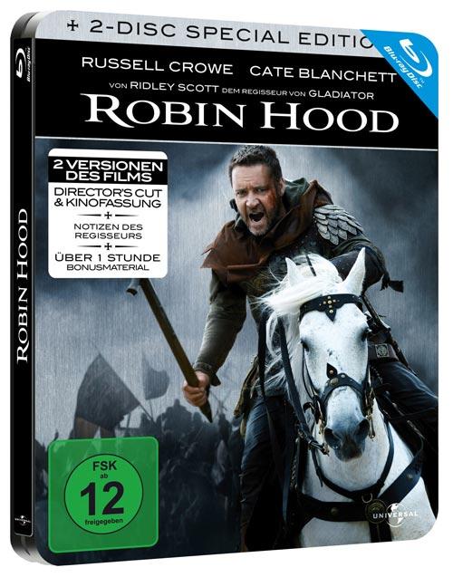 Robin Hood Blu-ray Steelbook